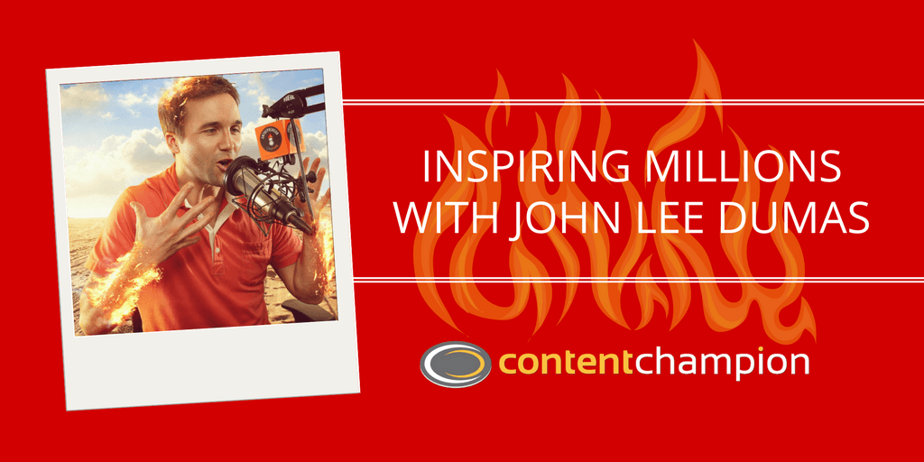CC 001: Inspiring Millions With John Lee Dumas of The Entrepreneur on Fire Podcast & The Freedom Journal
