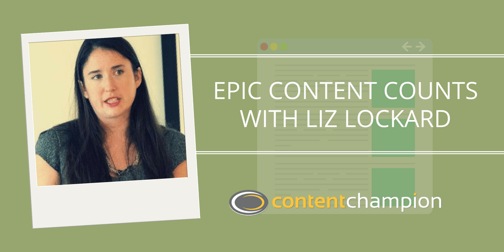 CC 004: Epic Content Counts: An Interview With Epic Consultant Liz Lockard