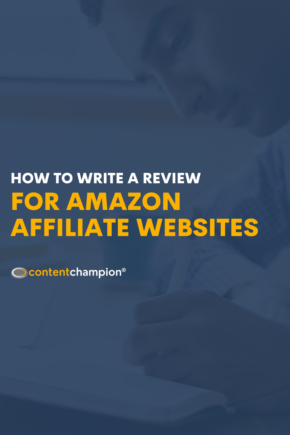 How To Write A Review For Amazon Affiliate Websites Pin