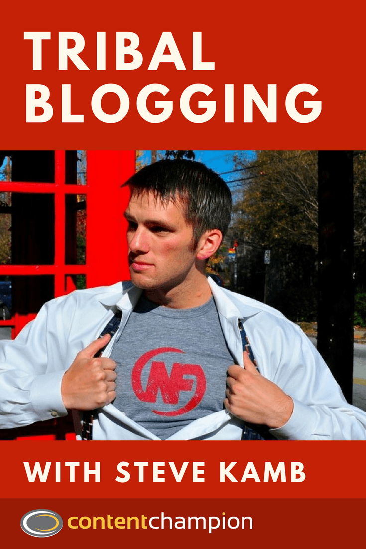 Steve Kamb Blogging Nerd Fitness