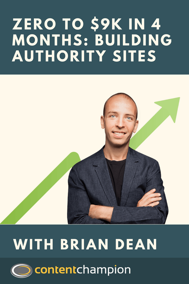 BUilding authority sites with Brian Dean
