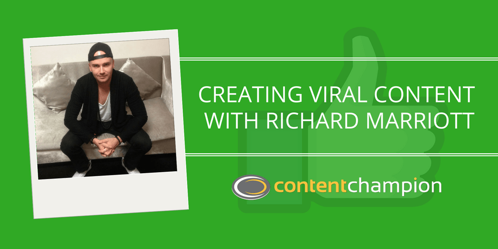 Richard Marriott creating viral content