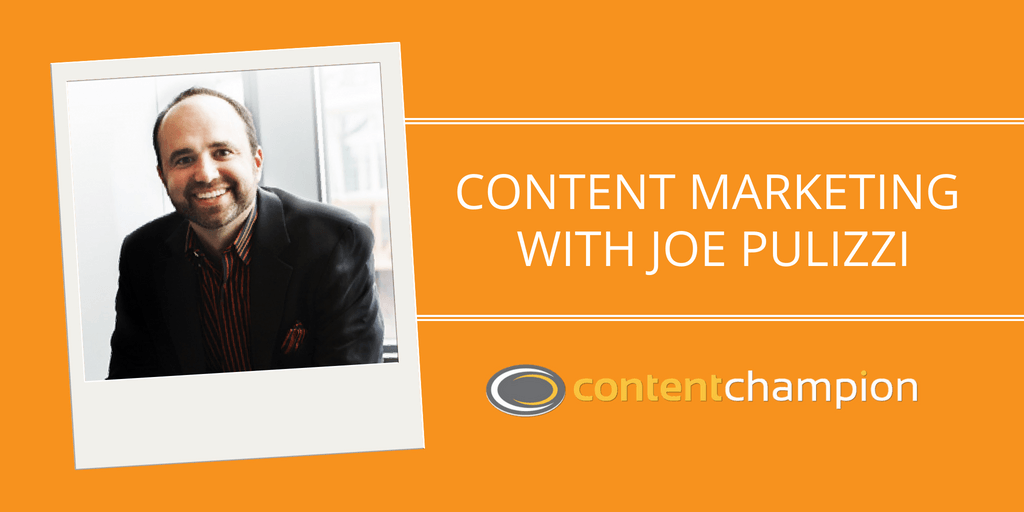 Joe Pulizzi of Content Marketing Institute