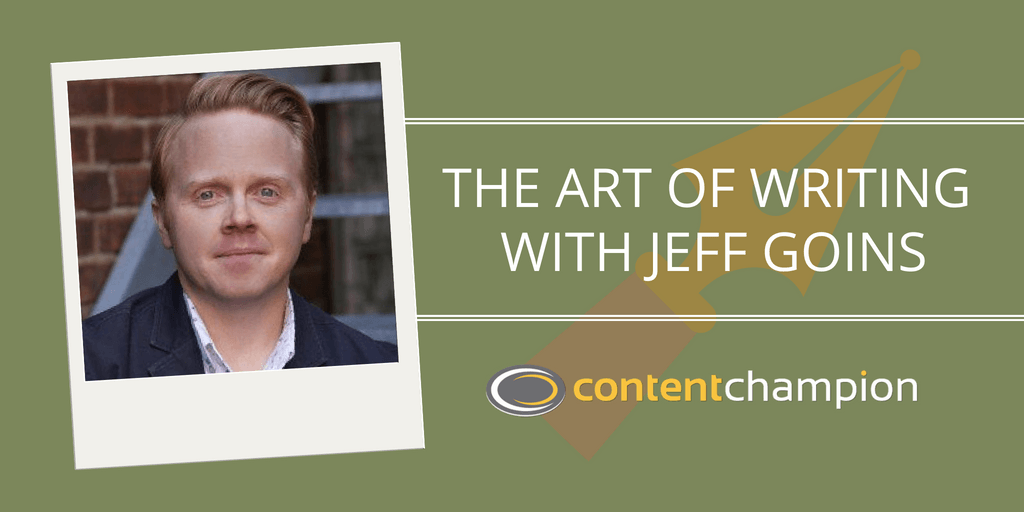 CC 018: Telling Stories: The Art of Writing With Jeff Goins of GoinsWriter
