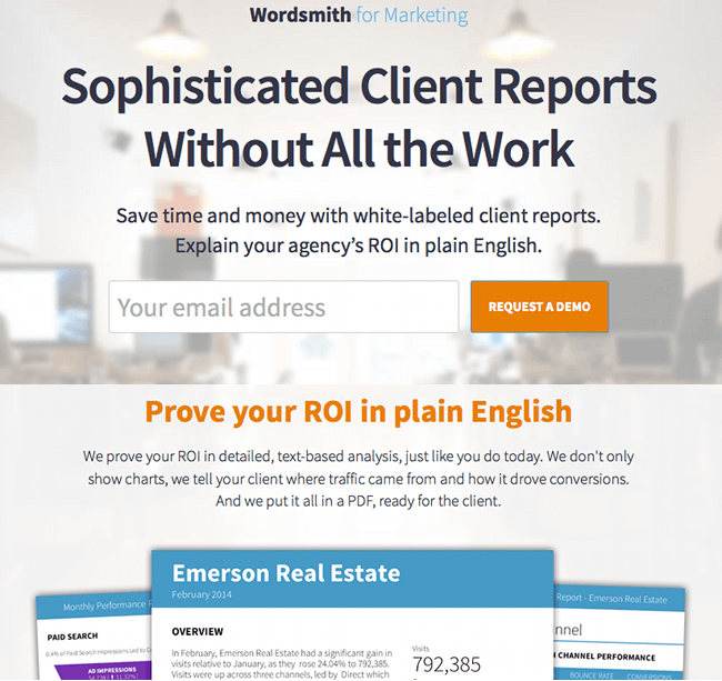 Wordsmith For Marketing From Automated Insights