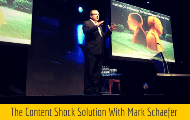 CC 039: Content Ignition: The Content Shock Solution With Mark Schaefer