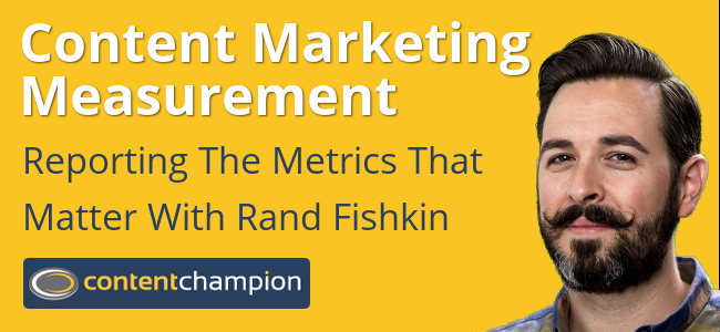 Content marketing measurement