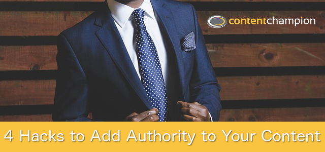 Content authority hacks