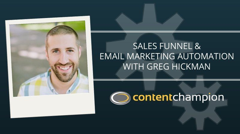 Marketing Automation With Greg Hickman