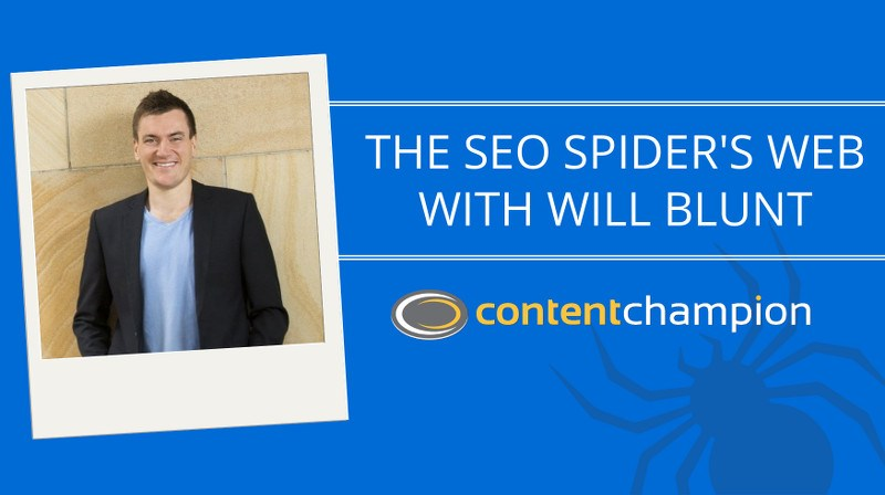 Will Blunt SEO Spider's Web