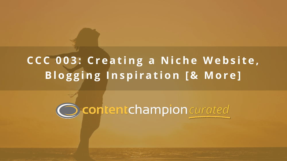 how to create a niche website