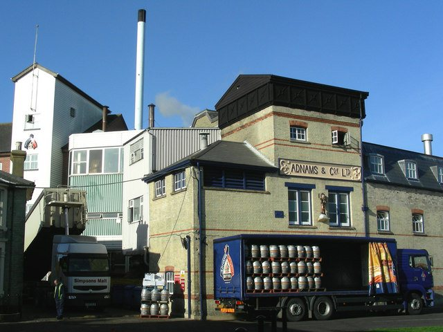 Adnams Brewery Southwold, UK