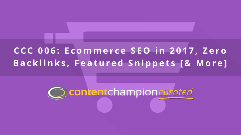 Ecommerce SEO in 2017