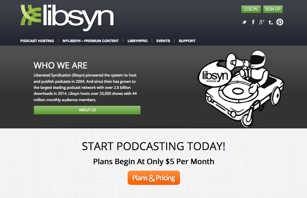 Libsyn Podcast Hosting