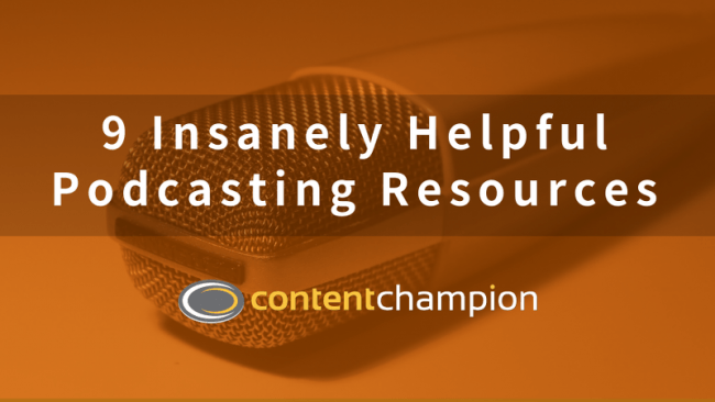 9 Insanely Helpful Podcasting Resources (For Podcasting On a Budget)