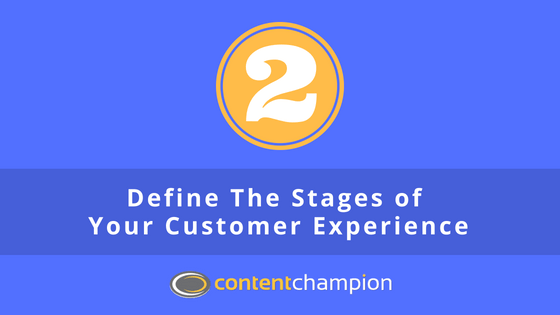 define stages of customer experience