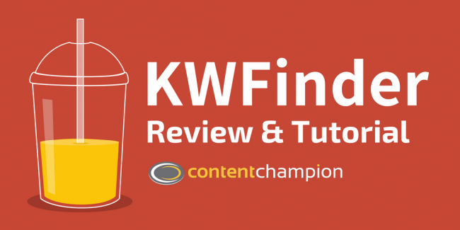 KWFinder Review & Tutorial (Plus Special Discount)