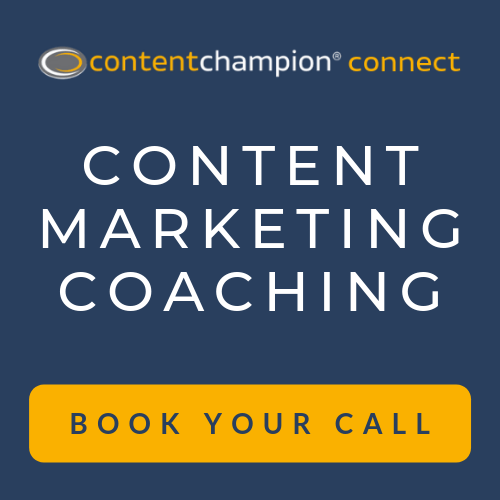 Content marketing coaching