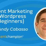 content marketing with wordpress