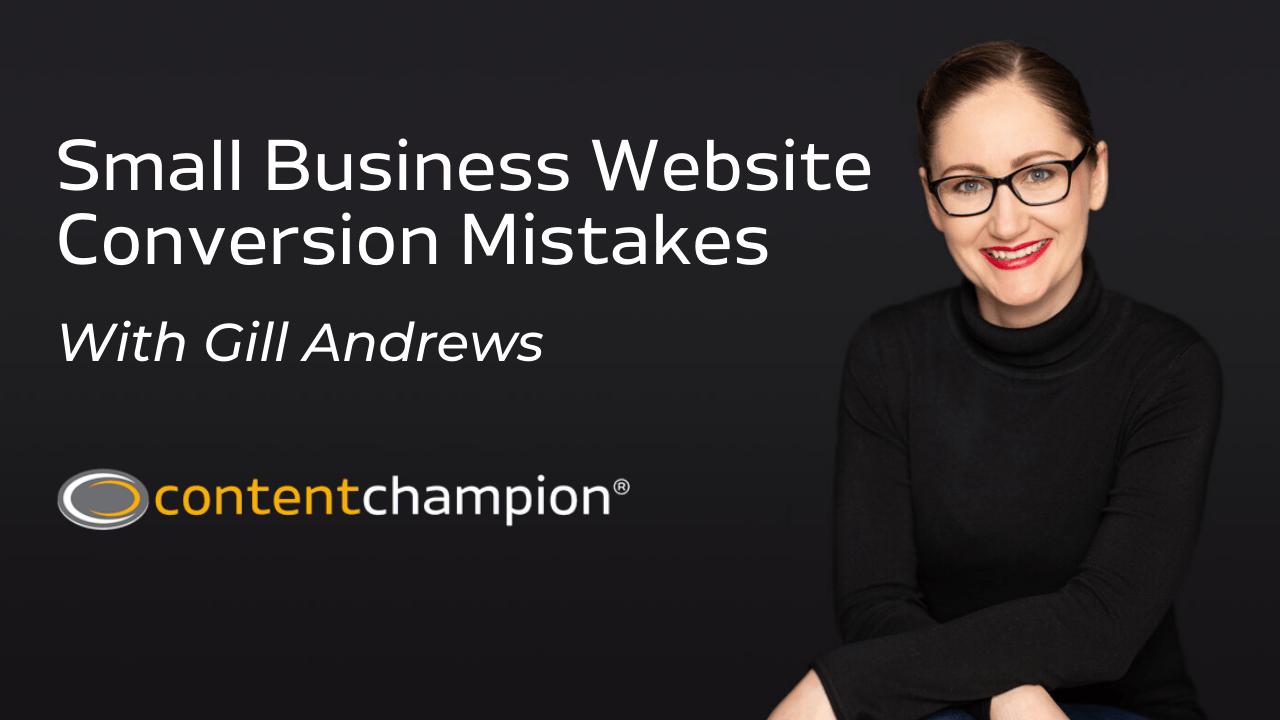 small business website conversion mistakes